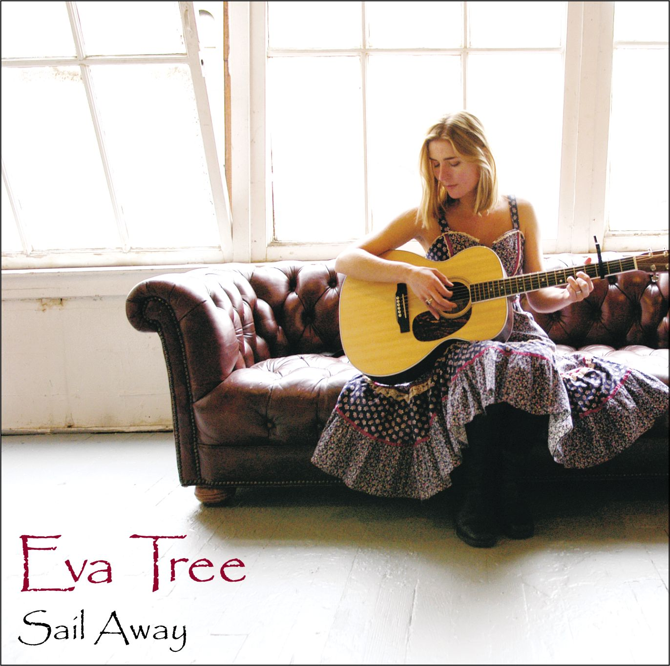 Eva Tree Sail Away CD Front Cover, photo by Michael Bauer