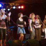 Eva Tree Sail Away CD Release, Photo by Ralph Widman, Crocodile Cafe, Seattle, WA, with MJ Bishop, Christy Taylor, Kathryn Mostow, Nancy K Dillon