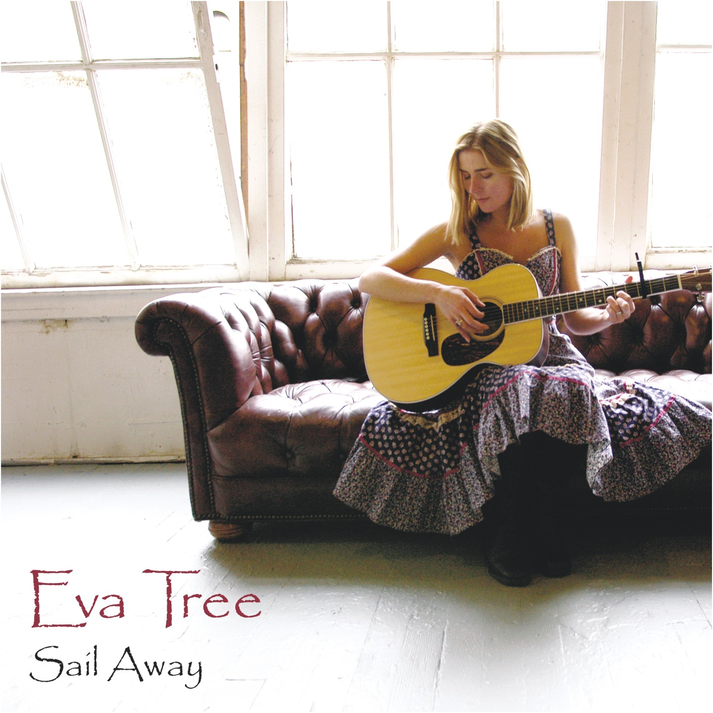Eva Tree - Sail Away - CD Booklet, Page 1, Front Cover, photo: Michael Bauer