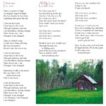 "Eva Tree - Sail Away - CD Booklet, Page 3, ""Hurricane"", ""All My Love"""
